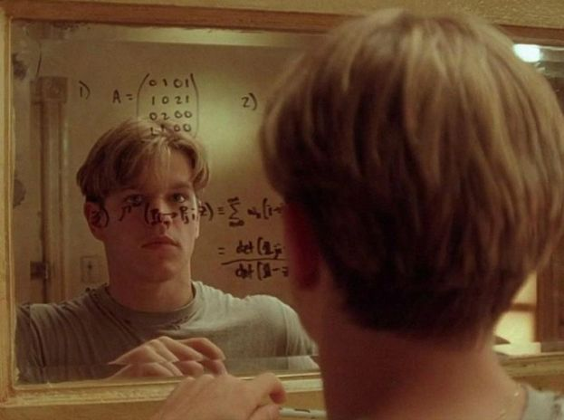 10.- WILL HUNTING DE 'EL INDOMABLE WILL HUNTING' (1997)