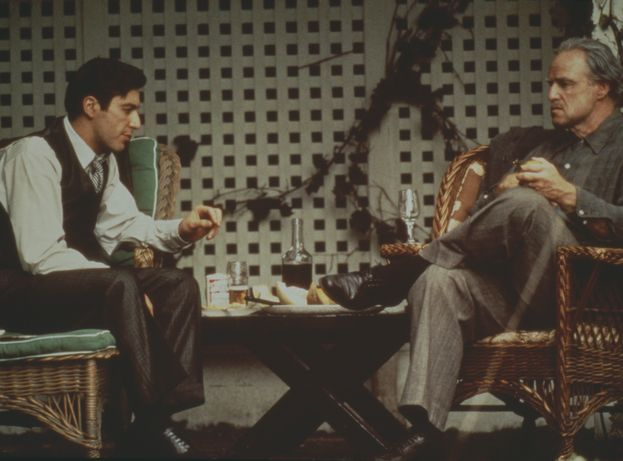 La familia Corleone al completo