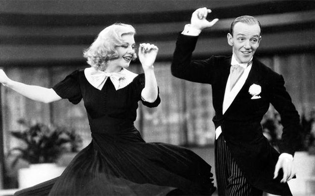 Fred Astaire y Ginger Rogers