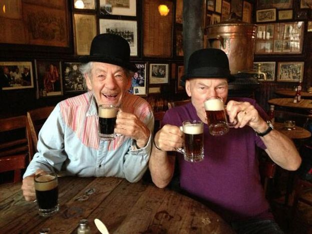Las cervezas de dos en dos