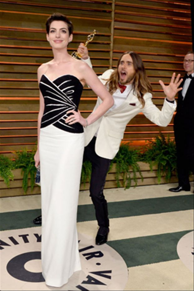 Jared Leto a Anne Hathaway