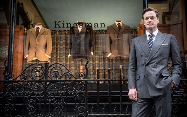 Colin Firth en 'Kingsman' (2014)