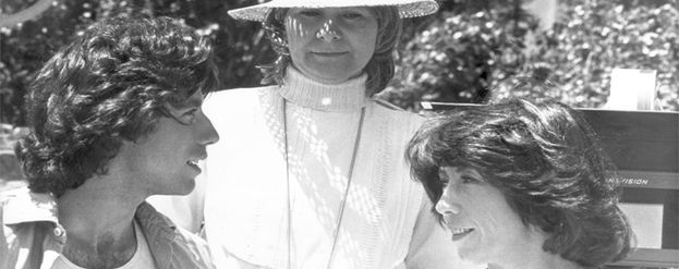 Lily Tomlin y Jane Wagner