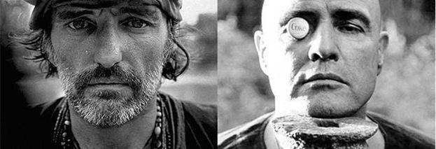 10.-Marlon Brando y Dennis Hopper