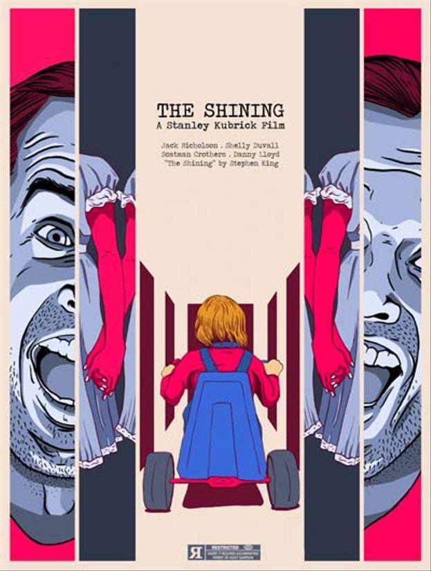 Los mejores posters de El Resplandor