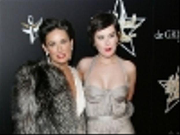 Demi Moore y Rumer Willis