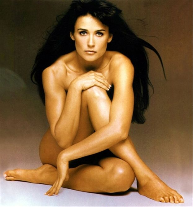 Demi Moore en 'Striptease'