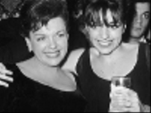 Judy Garland y Liza Minnelli