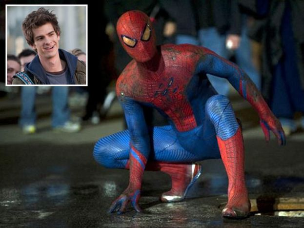 Andrew Garfield en 'THE AMAZING SPIDERMAN'