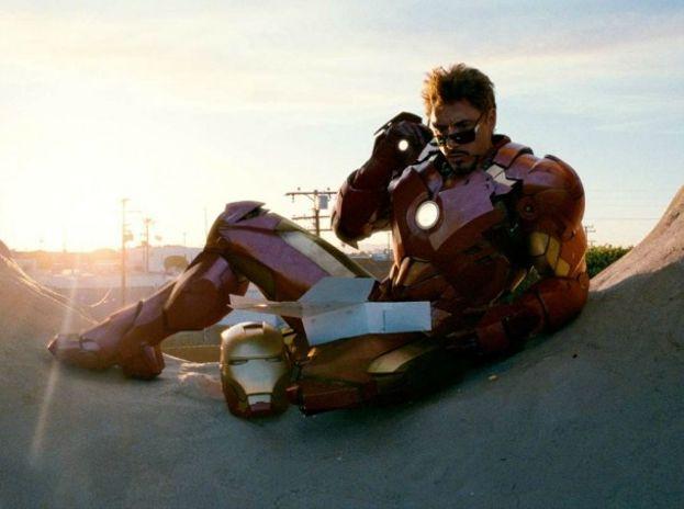 2.- TONY STARK DE 'IRON MAN' (2008)