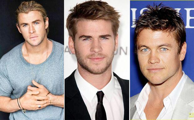 Chris y Liam Hemsworth más que Luke