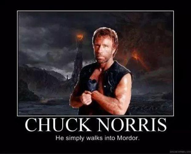 Un paseo por Mordor