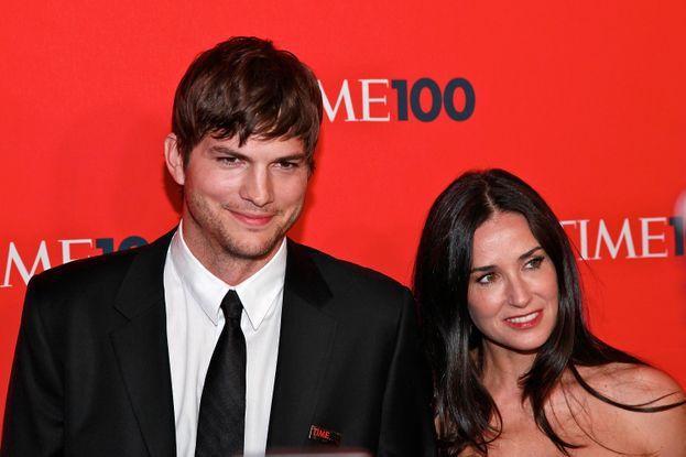 3. Demi Moore y Ashton Kutcher