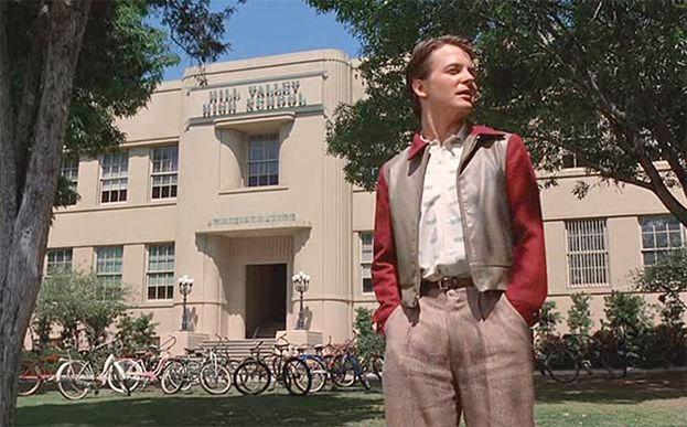 Hill Valley High School ('Rregreso a futuro')