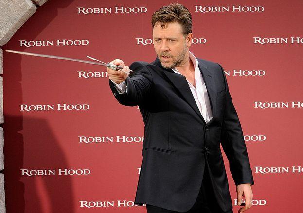 Russell Crowe y el aseo personal