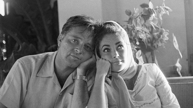Elisabeth Taylor y Richard Burton