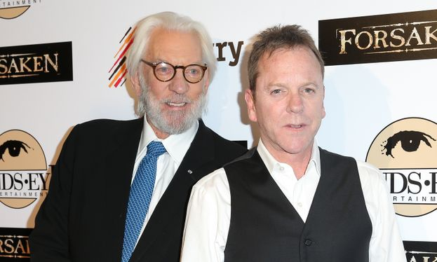 Donald Sutherland y Kiefer Sutherland