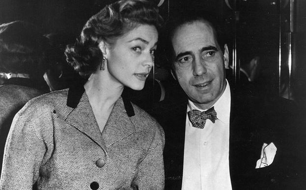 Humphey Bogart y Laurel Bacall en 'Kong: La isla calavera'