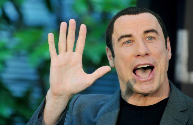 John Travolta y las camisetas