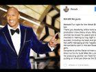 Así es Dwayne Johnson según su cuenta de Instagram