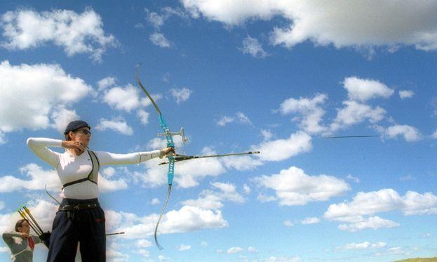 Geena Davis - Tiro con arco