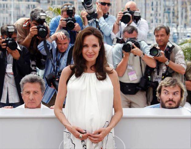 Dustin Hoffmann y Jack Black a Angelina Jolie