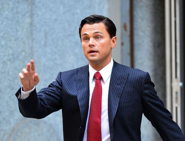 2. Leonardo DiCaprio en El lobo de Wall Street