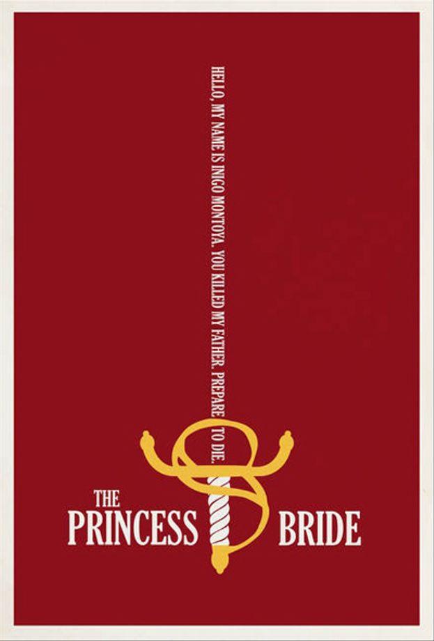 Los mejores posters de 'La Princesa Prometida'