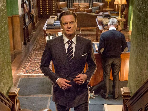 Harry Hart (Colin Firth)