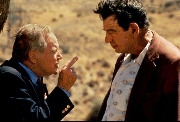 Jack Lemmon y Walter Matthau en 'Dos viejos gruñones'