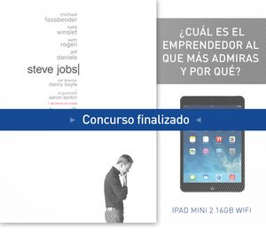¡Gana un Ipad Mini 2 16GB Wifi con 'Steve Jobs'!