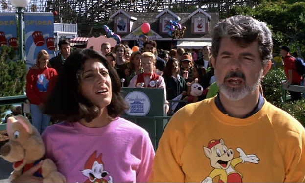 George Lucas en 'SUPERDETECTIVE EN HOLLYWOOD 3'