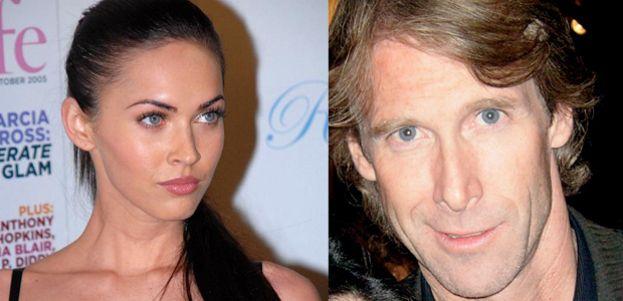 2.- Megan Fox y Michael Bay
