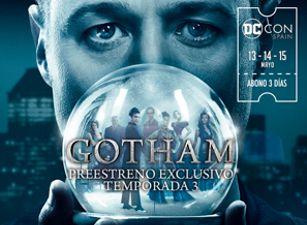 ¡Gana entradas para 'GOTHAM' T3!