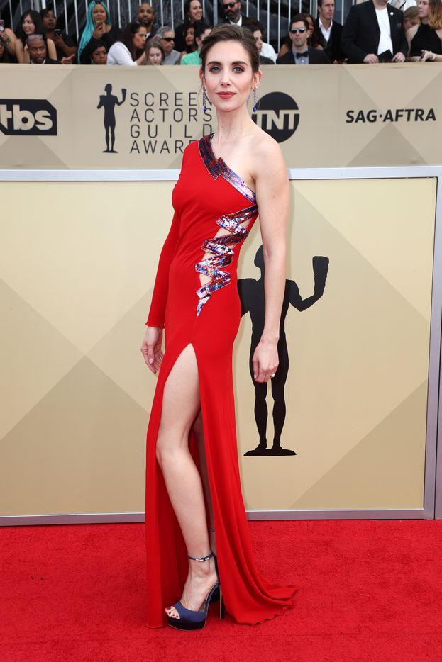 Look flop: Alison Brie