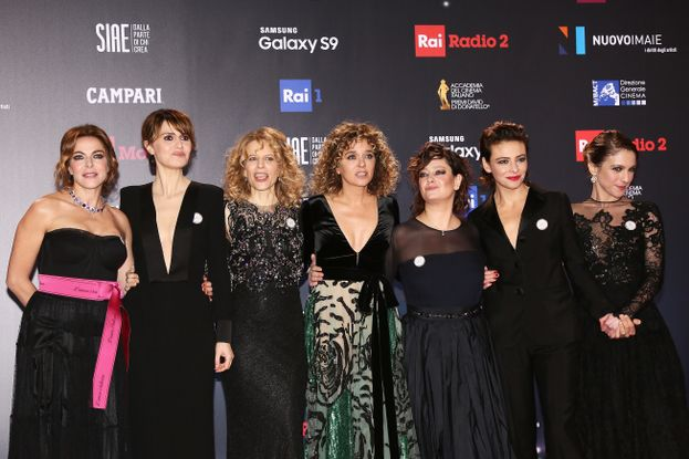 Claudia Gerini, Paola Cortellesi, Sonia Bergamasco, Valeria Golino, Giovanna Mezzogiorno, Jasmine Trinca e Isabella Ragonese