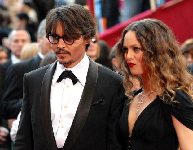 Johnny Depp e Vanessa Paradis, Academy Awards 1998