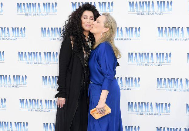 Cher e Meryl Streep