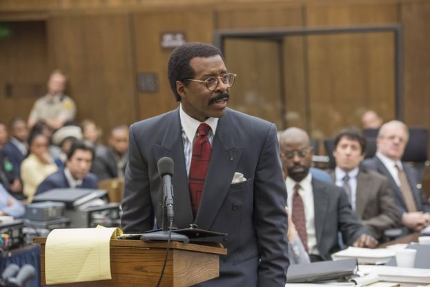 "Miglior attore protagonista in una miniserie o film: Courtney B. Vance per ""The People v. O.J. Simpson: American Crime Story"""