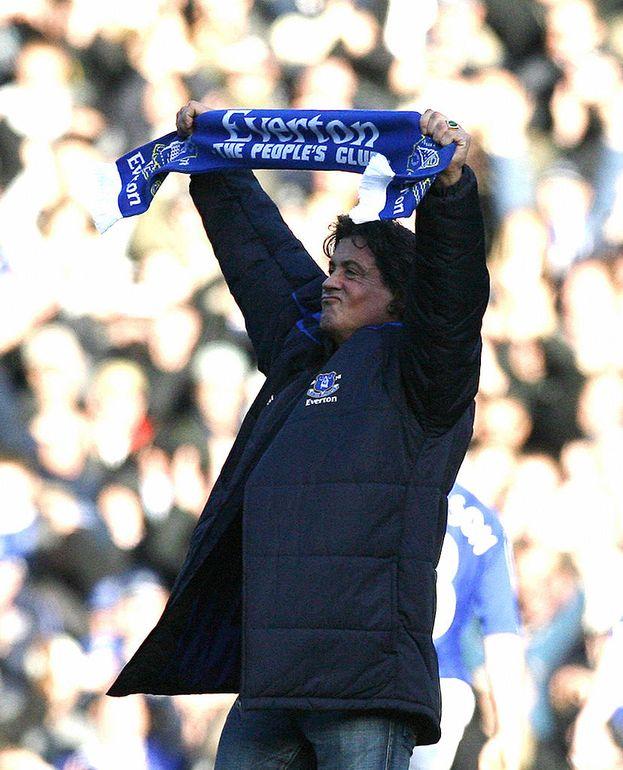 Sylvester Stallone - Everton (calcio)