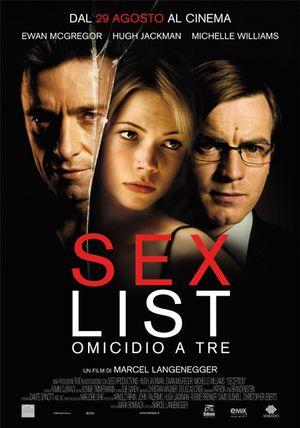 Sex List - Omicidio a tre