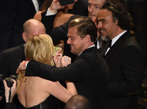 Kate e Leonardo festeggiano assieme