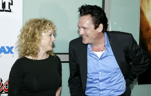 Virginia e Michael Madsen