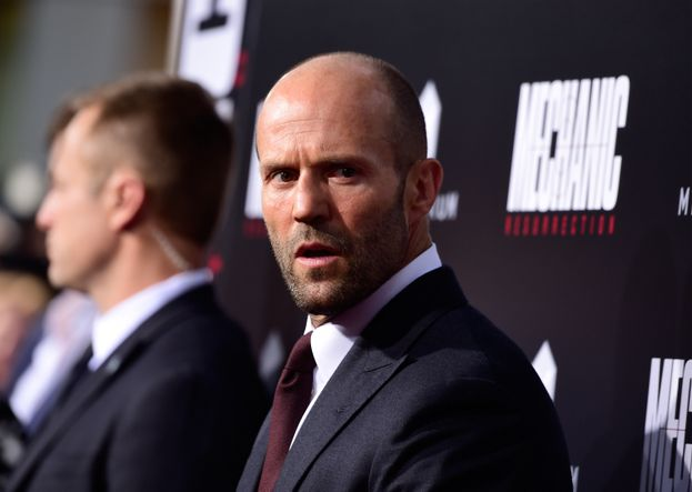 Jason Statham e la folla