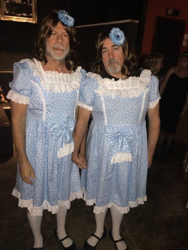 Bruce Willis e Stephen J. Eads (Gemelline di Shining)