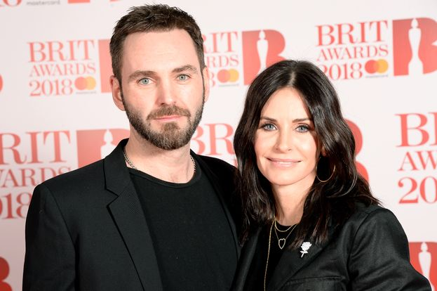 Courteney Cox e Johnny McDaid