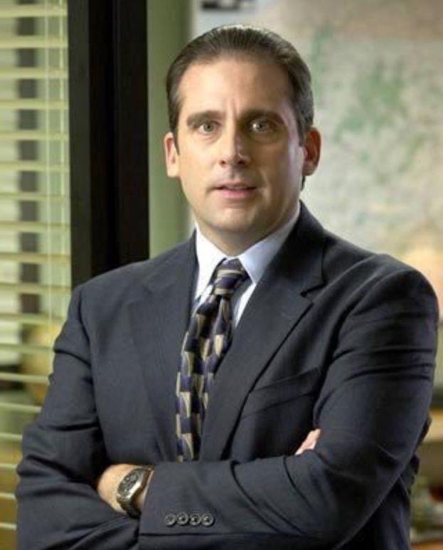 """Michael Scott (Steve Carell) - """"The Office"""""""