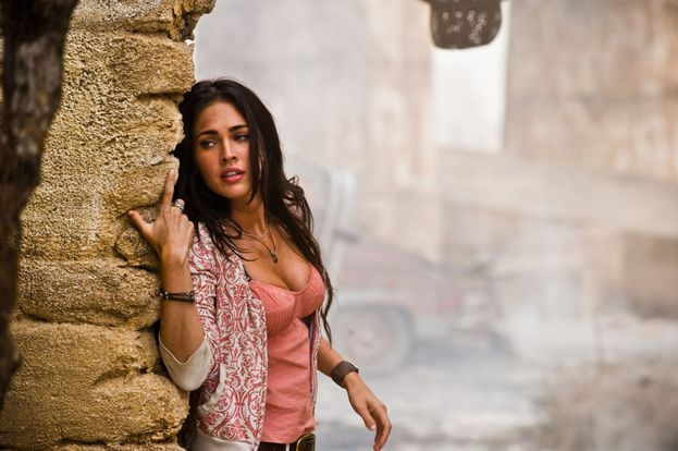 "Megan Fox su ""Transformers - La vendetta del caduto"" (2009)"