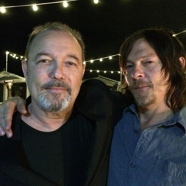 "Rubén Blades con un ospite speciale: Norman Reedus di ""The Walking Dead""!"