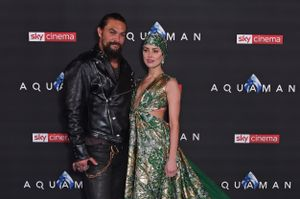 Aquaman: Jason Momoa e Amber Heard alla premiere mondiale